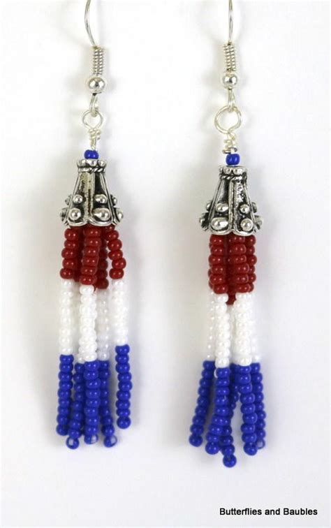 how to make beaded fringe earrings beaded fringe diy earrings allfreejewelrymaking