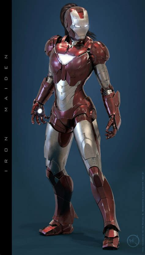 forget iron man iron woman armor sexier pic