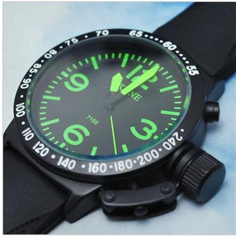 u boat watch green men s watches skone german u boat style watch green