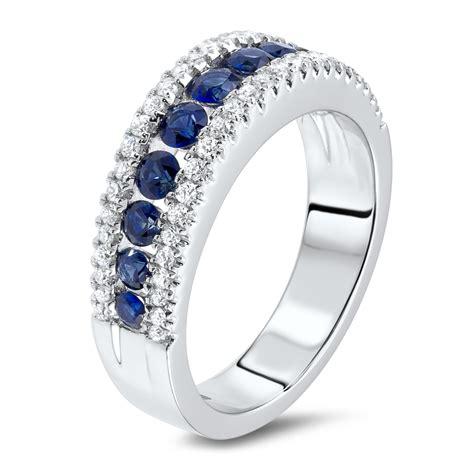 Diamonds Rings by 0 33 Carat Ring With Sapphires Diamondland