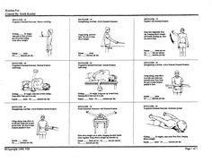 Isometric shoulder exercises handout pt info on pinterest physical