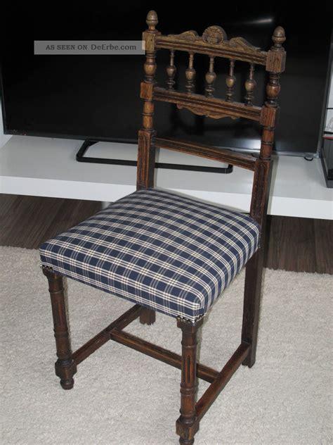 stuhl alt stuhl holzstuhl polsterstuhl eiche gr 252 nderzeit jugendstil