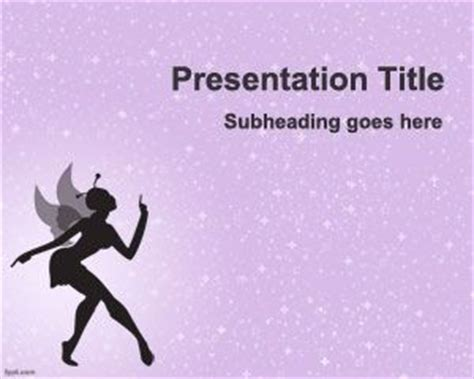 fairy powerpoint template