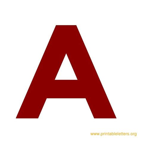 printable letters red fancy red letter a www pixshark com images galleries
