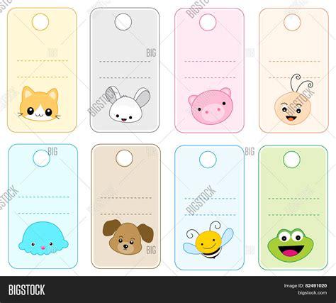 printable animal gift tags printable animal gift tags image photo bigstock