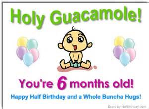 send a half birthday ecard half year ecard