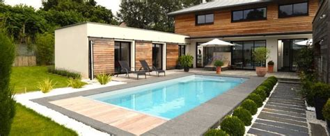 terrasse 8x4m la piscine paysag 233 e par l esprit piscine piscine 8 x 3 5