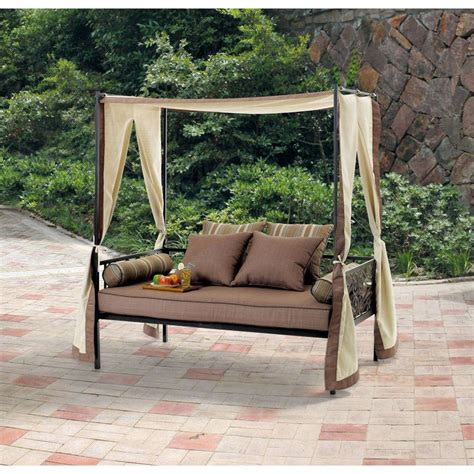 outdoor patio lounge daybed outdoor patio furniture day bed lounge with canopy sun
