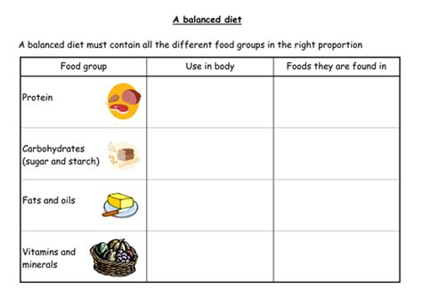 carbohydrates ks2 a balanced diet by fiendishlyclever teaching resources tes
