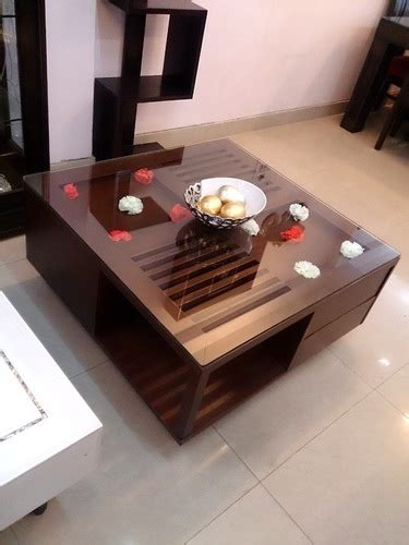 center table with storage square wooden center tables with storage in delhi