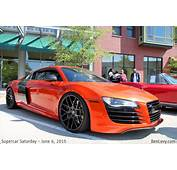 Audi R8 In Burnt Orange  BenLevycom