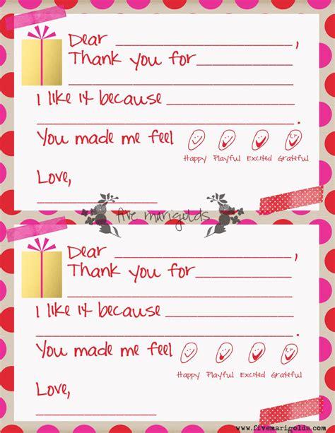 christmas note templates kids marigolds