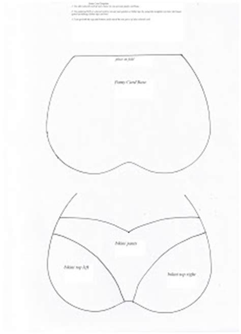 Bra Template For Cards by Heartfelt Creations By Connie More Bra And Cards