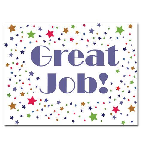 Job Congratulations Postcards for Business or Schools ...