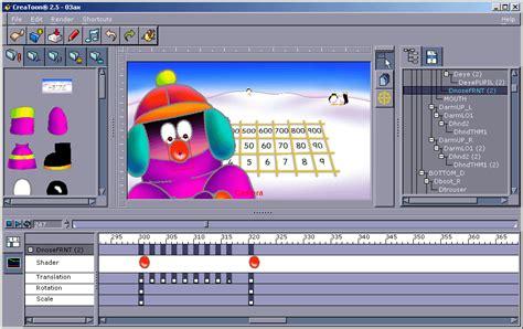 software creator 2d animation software reallusion crazytalk