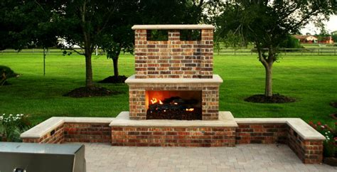 outdoor fireplace houston tx photo gallery