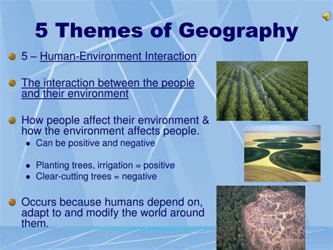 5 themes of geography ireland ppt what is geography powerpoint presentation id