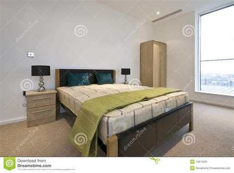 size of double bedroom modern double bedroom with king size bed stock image