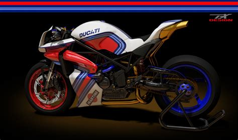 Ducati Monster Cafe Racer to Die For Rendered by Paolo Tesio autoevolution