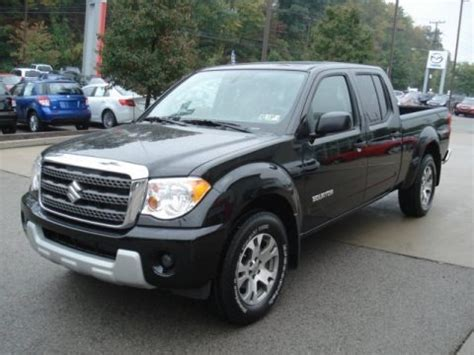 Suzuki Sport Spec 2012 Suzuki Equator Sport Extended Cab 4x4 Data Info And