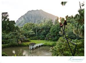 hawaii wedding photographer wedding at haiku gardens and