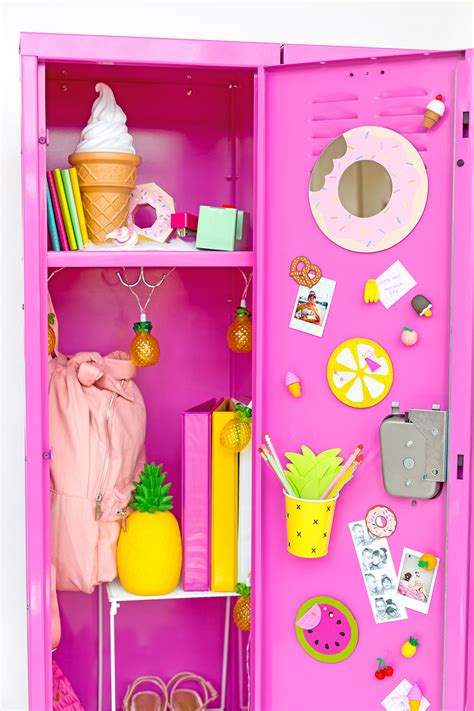 locker decorations diy 187 colorful diy locker decoration ideas