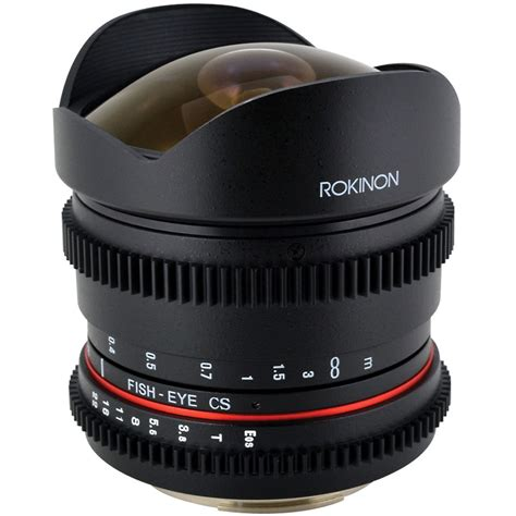 best fisheye lens for canon rokinon 8mm t 3 8 fisheye cine lens for canon rk8mv c b h