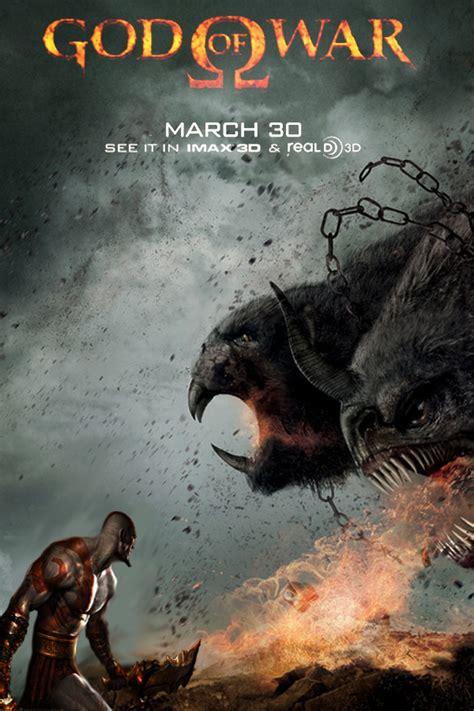 god of war a film god of war movie poster by dcomp on deviantart