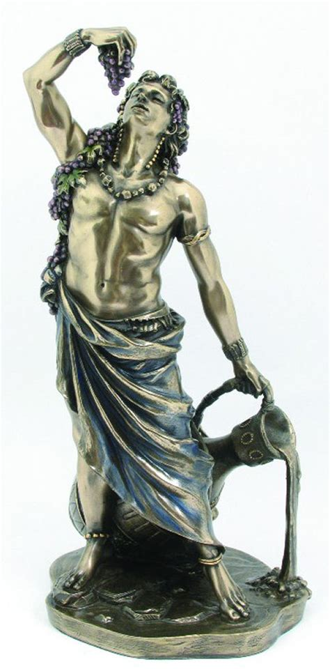 dionysus greek god statue dionysus god of wine statue