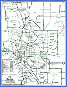 Colorado springs metro map map travel holiday vacations
