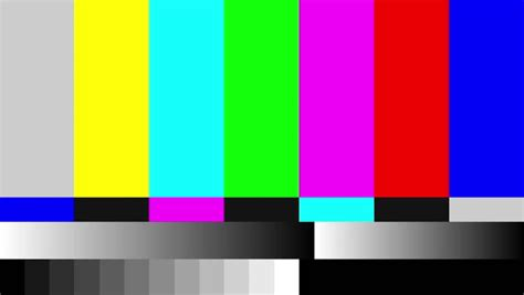 test tv 4k 4k 4096x2304 static tv color bar test pattern stock