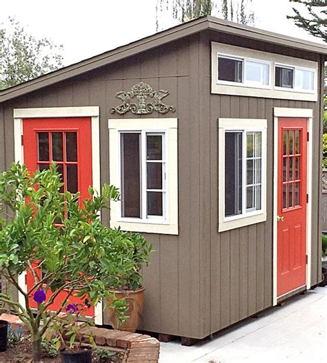 California Sheds Salinas by California Custom Sheds 8 X10 Shed Roof