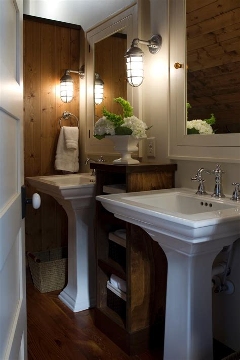 pictures of pedestal sinks in bathroom photos hgtv