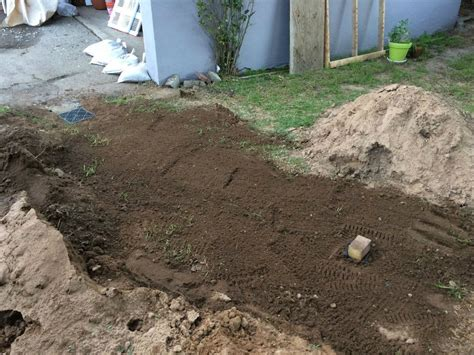 french drain  dry   steps  pictures