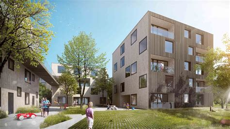 Appartments In The City by Gallery Of Green City Housing Complex Chybik Kristof
