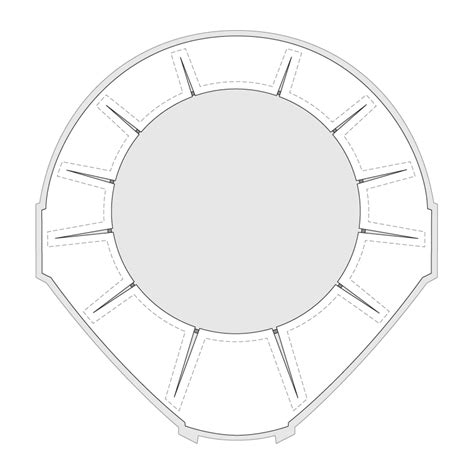 printable gasket templates awesome jango fett armor templates contemporary the best