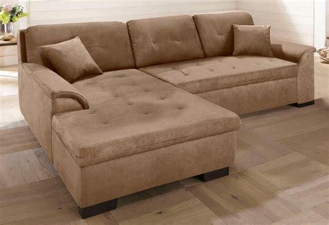 sofa mit ottomane und bettfunktion home affaire ecksofa 187 bergen 171 wahlweise mit