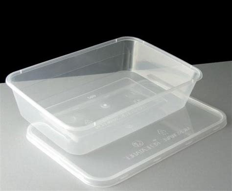Container Microwave 1 500ml 100 plastic containers clear with lids microwave food safe takeaway c1000 1000ml ebay