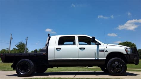 lift bed 2008 dodge ram 3500 lifted for sale