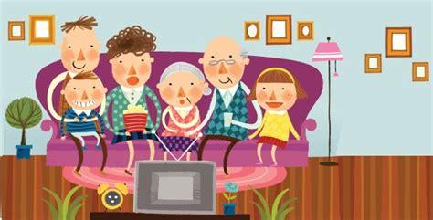 imagenes de la familia viendo tv ense 241 ar a los ni 241 os a ver la televisi 243 n contufamilia