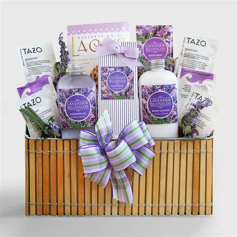 Spa Gifts - fields of lavender spa gift basket world market