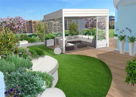 terrazza giardino progettare terrazzi global green