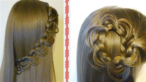 Pictures Of Hairstyles the melting braid tutorial 2 hairstyles