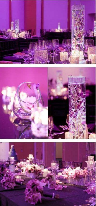 color purple book themes purple wedding theme wedding centerpieces http