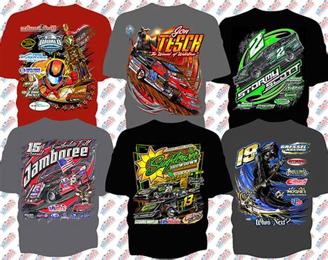 How To Design Using This Same Style Photoshop Racing T Shirt Templates