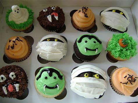 diy baking scary cupcakes creativebusstop
