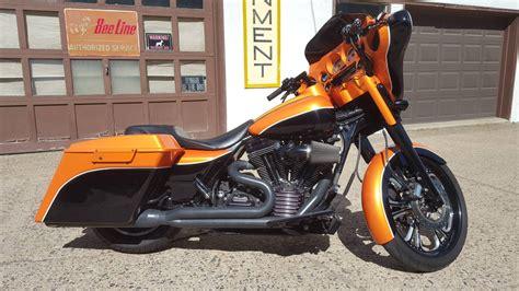 Harley Davidson Hd011 Black Orange 2007 harley davidson 174 flhx glide 174 custom hd orange black st paul minnesota 722925