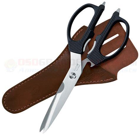 kershaw scissors kershaw 1120s taskmaster shears with sheath osograndeknives