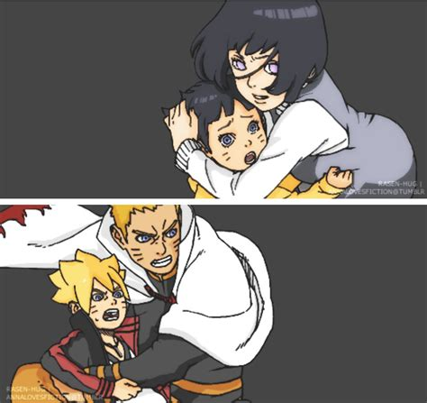 boruto lovers naruhinaナルヒナ lovers on twitter quot protecting their babies