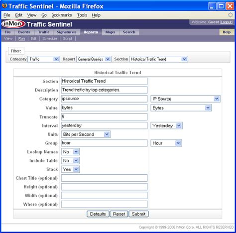 Tutorial Php Reports | inmon support tutorials reporting